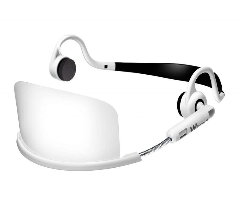 【透明マスク】ウィンカムヘッドセットマスク